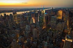 The Hudson (bwilliamp) Tags: nyc newyorkcity usa ny newyork manhattan hudsonriver empirestatebuilding bigapple