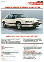 1989 Pontiac Grand Prix SE Sport Appearance Package (coconv) Tags: pictures auto door old 2 two classic cars car sport sedan vintage magazine ads advertising cards se photo flyer automobile post image photos antique postcard ad picture grand images advertisement prix vehicles photographs card photograph postcards vehicle pontiac 1989 autos collectible collectors brochure package coupe automobiles appearance dealer 89 prestige