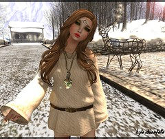 white christmas + free 2 (kyle Chiantelle) Tags: pink sassy acid free secondlife freebies gizza slink severedgarden catwa pinkacid elephanteposes wintertrendfair2013