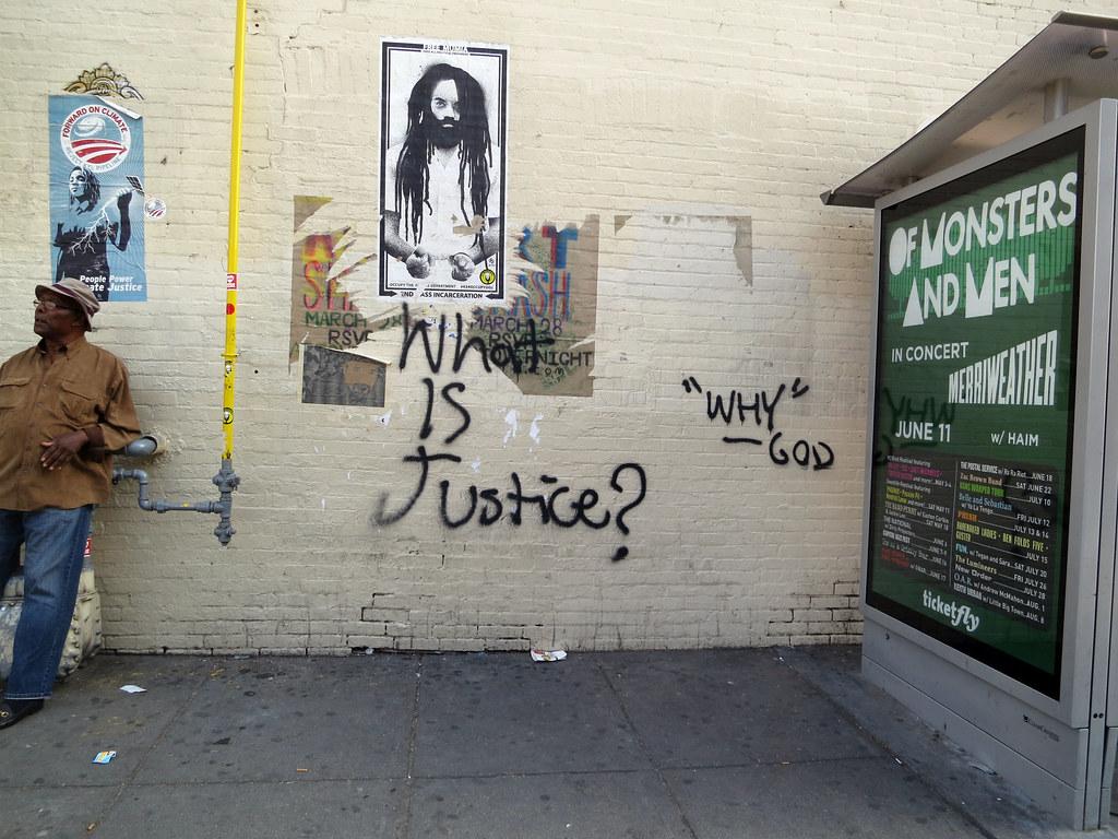 qu es la justicia daquella manera tags street art graffiti justice