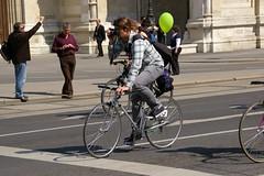 Bycicle parade in Vienna (kszphotos) Tags: vienna wien city fotografieren parade fahrrad oper opernring bycicle radfahrer radparade