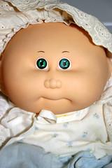 Cabbage Patch Baby (Zaeda, Jovi & Sixx) Tags: baby cute doll diaper 80s preemie cabbagepatchkid 1980s hasbro cpk babypowder xavierroberts