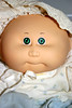 Cabbage Patch Baby (Zaeda, Jovi & Sixx) Tags: baby cute doll diaper 80s preemie cabbagepatchkid 1980s hasbro cpk babypowder xavierroberts