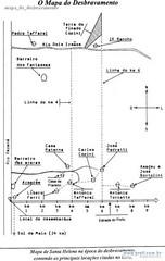 mapa do desbravamento