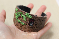 Miniature Brick Wall Bangle