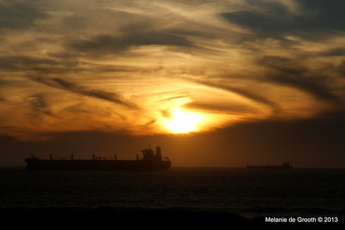 Sunset at Blouberg Strand