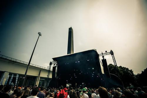 Metronomy Live concert @ Ronquieres Festival