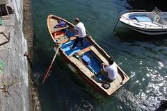 003 (Sica Carmine) Tags: sea italy boat fishing barca italia mare campania village marinaro napoli naples rowing castello borgo castel remi fishingvillage ovo rowingboat casteldellovo borgomarinaro