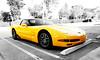 Corvette - Bokeh Pano (ramkumar999) Tags: panorama car yellow 50mm nikon bokeh nikkor f18 corvette ai method d40 brenizier
