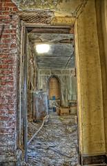 through the doorway (Brian Rome Photography) Tags: abandoned church photography buffalo nikon empty homeless urbanexploration exploration urbex scrappers