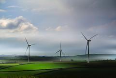 Wind Power (Livesurfcams) Tags: countryside nikon wind bluesky devon v1 turbine greenfields