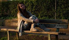 Nataliya (Iliyan Yankov) Tags: park old city sunset portrait urban sun hot flower sexy nature girl beautiful face field fashion wonderful magazine real 50mm spring nice model women warm dof bokeh modeling quality young depthoffield series lovely depth lense lenses beautifulgirl 50mm18 lovelyday eseries nikon50mm18 nataliya 50mm18e nikon50mm18eseries lences