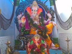 Nspw ner station (bhagwathi hariharan) Tags: god lord ganesh vasai virar ganpathi nalasopara nallasopara