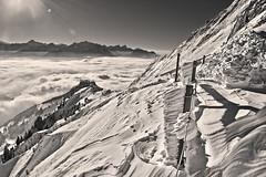 After the winter's storm, Après la tempête aux Rochers-de-Naye (VD) . No. 6230. (Izakigur) Tags: thelittleprince liberty laventuresuisse lasuisse lepetitprince ilpiccoloprincipe myswitzerland musictomyeyes nikond700 nikkor nikkor2470f28 snow blackwhite blanc vaud alps alpes alpen alpi ch cantonvaud lhiver izakigur flickr swiss suiza suisia suizo suïssa switzerlnad svizzera dieschweiz d700 2017 friendship love peace paix hope free fixyou coldplay dream happy romandie swissromande montreux