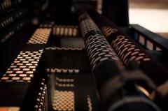 Schattenmuster (Silaris Inc.) Tags: hochofen lochblech schatten rohre industrie muster outdoor licht gitter gegenlicht sonnenlicht duisburg nordrheinwestfalen deutschland de