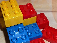 Primary colours (Martellotower) Tags: flickr friday primary colours duplo bricks toys lego play well red yellow blue