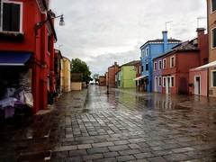 Burano , Vénétie (jacques.missud) Tags: burano venetie pkuie pluie