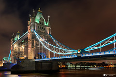 Tower bridge London (technodean2000) Tags: tower bridge london england river thames nikon d610 lightroom blue hour night lights outdoor architecture waterfront water dusk city gate