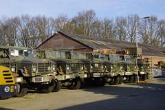 Leger trucks in Maasbracht 25-03-2017 (marcelwijers) Tags: leger trucks maasbracht 25032017 armytrucks army bundeswehr lkw nederland niederlande netherlands