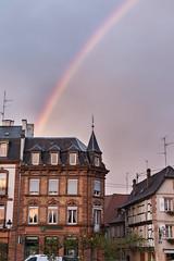 Arc en ciel à Wissembourg (M_Griesmar) Tags: alsace appartement arcenciel basrhin ciel couleur europe extérieur france frankreich maison paysages rainbow regenbogen wissembourg grandest fr