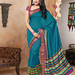 Printed Bhagalpuri Saree With Blouse Piece Sarees on Shimply.com