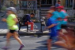 Tel Aviv (Hemo Kerem) Tags: israel telaviv street a7rm2 a7rii nikon85mmf2ais nikkor85mmf2ais ais85mmf2 ais285 marathon longexposure le runners dog tlv 85mm manualfocus mf nikon nikkor sony sonya7rm2 ilce7rm2 alpha