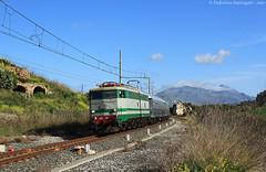 E646.196 - Roccapalumba-Alia (Federico Santagati) Tags: treno del mandorlo fiore e646 196 ferrovie kaos dello stato fs sicilia
