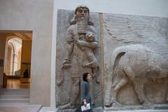 GILGAMESH Louvre (erster83) Tags: neareasternantiquities antiquities louvre löwe lion gilgamesh paris relief art kunst