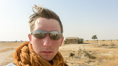 IMG_20476 (Manveer Jarosz) Tags: bharat canadian hindustan india jaisalmer rajasthan thardesert adventurer desert hut people photographer rural safari sand shades sunburn sunglasses sunny travel traveller portrait