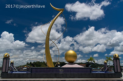 Mercu Dirgahayu (jperthllave) Tags: mercudirgahayu memorial 60th bolkiah sultanate sultan sixty arabic sultanhassanalbolkiah pentax 21mm smcpda21mmf32al bruneidarussalam brunei bandarseribegawan