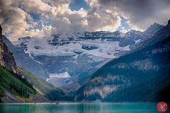 Boat ride (Kasia Sokulska (KasiaBasic)) Tags: canada alberta banffnp lakelouise summer landscape rockymountains mountains rockies
