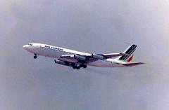 F-BHSV Boeing 707-328B cn 18456 ln 325 Air France Palma 11Jun79 (kerrydavidtaylor) Tags: palmademallorcaairport aeropuertodepalmademallorca lepa pmi boeing707 boeing707300b