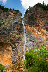 Rinka Waterfall;  Logar Valley (Sony_Fan) Tags: slovenia sonyalpha550 tamron 2875mm 28 waterfall berge mountains national park triglav alpen wasser water nature natur europa europe felsen rocks hiking thomas wandern umbach 2010