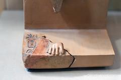 Raneferef Cartouche (konde) Tags: 5thdynasty oldkingdom abusir mortuarytemple neferefre raneferef ancientegypt statue horus cartouche hieroglyphs