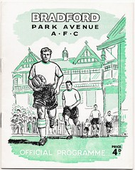 BRADFORD PARK AVENUE 1961-62 (bullfield) Tags: bradfordparkavenue yorkshire bradford football programme official