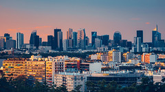 La Défense (CreART Photography) Tags: paris ladéfense cityscape skyline sunset