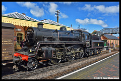 No 76084 17th April 2017 NNR (Ian Sharman 1963) Tags: no 76084 17th april 2017 nnr class 4mt 260 station steam engine railway rail railways train trains passenger loco locomotive north norfolk sheringham holt