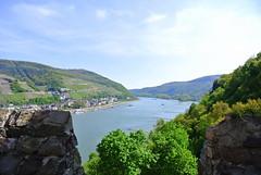 Der Rhein - Rhine River (ivlys) Tags: burgrheinstein rheinstein burg castle assmannshausen rhein rhine fluss river landschaft landscape nature ivlys