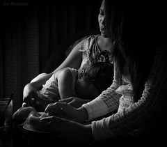 A Mother's Warmth (JDS Fine Art Photography) Tags: mother child travel philippines asia filipina bw