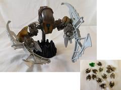 Obsidian Geode (Poor Disadvantaged) Tags: bionicle lego bootleg smoke