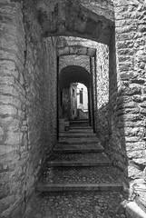 A slice of Umbria: Piedipaterno, Vallo di Nera (PG) (simone_aramini) Tags: biancoenero valnerina vallodinera borgo borghi blackandwhite blackwhitephotos nikond200 naturallight nikon nationalgeografic ngc hilltown umbria italy travel
