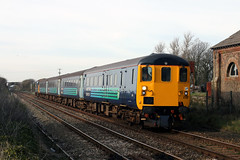 9709+37402 (Cumberland Patriot) Tags: arriva rail north ltd northern drs direct services ee english electric type three class 37 374 37402 37274 6974 d6972 oor wullie bont y bermo stephen middlemore 23121954 862013 diesel dieselelectric locomotive loco hauled push pull cumbrian coast railway line cumbria cumberland bootle copeland borough 2c34 passenger train 9709 mk2 dbso driving brake second open carriage railroad track outdoor outside trains