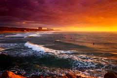 Surfers at sunset - The South-beach - Hertzelia (Lior. L) Tags: surfersatsunsetthesouthbeachhertzelia surfers sunset thesouthbeach hertzelia surfing clouds cloudysunset travel travelinisrael sea seascapes