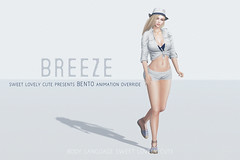 Bento AO Breeze @ Uber (Body Language Sweet Lovely Cute) Tags: sl secondlife bodylanguage