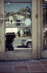 Reflection (edwardconde) Tags: lifeguard film minolta c200 x570 fujicolor200 california santabarbara c41 carpinteria self processed aristac41kit