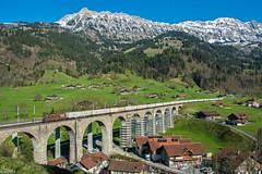 21/04/2017 | Frutigen (SB-2013) Tags: bls cargo re 425 44 179 frutigen kanderviadukt schweiz switzerland