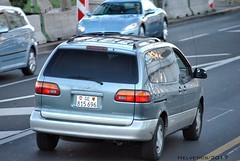 Toyota Sienna - Switzerland, Geneva (Helvetics_VS) Tags: licenseplate switzerland geneva oldcars toyota sienna