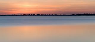 Minimalist sunset