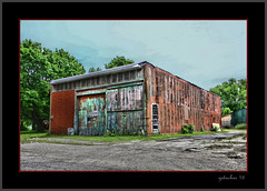 Color Code (the Gallopping Geezer '5.0' million + views....) Tags: building structure old weathered worn faded decay decayed neglected rural backroad backroads roadtrip mi michigan upperpeninsula up canon 5d3 tamron 28300 geezer 2016 abandoned closed vacant