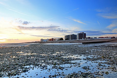 2017_02_24_0328_29_30_fused (EJ Bergin) Tags: beach seaside worthing westsussex sunset lowtide seafront clouds hdr exposurefusion